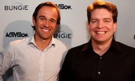 Thomas Tippl, COO of Activision Blizzard and Harold Ryan, President of Bungie
