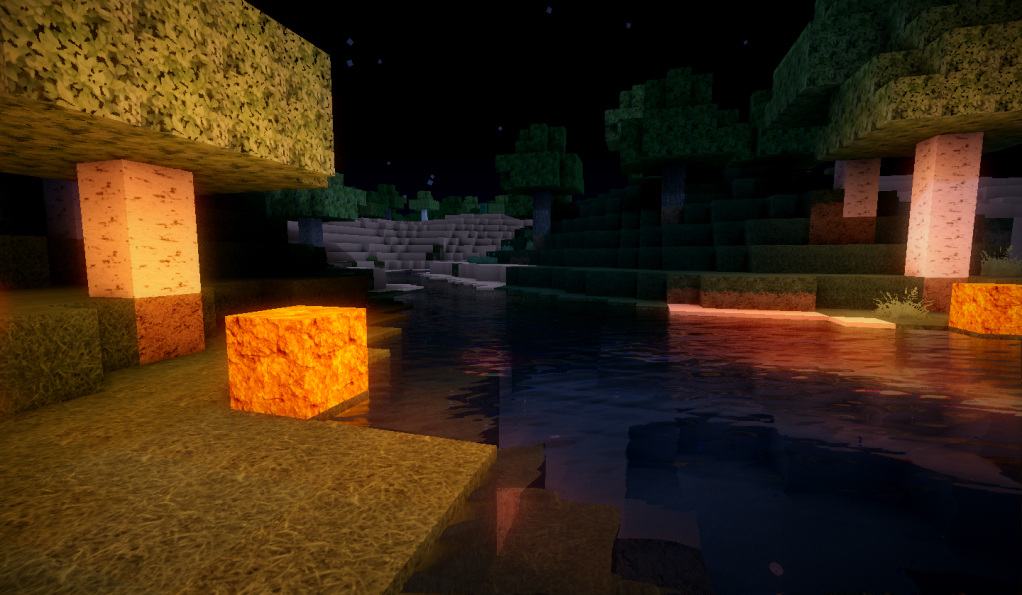 Minecraft Wall Light Mod : Minecraft mod adds gorgeous lighting and water effects NAG