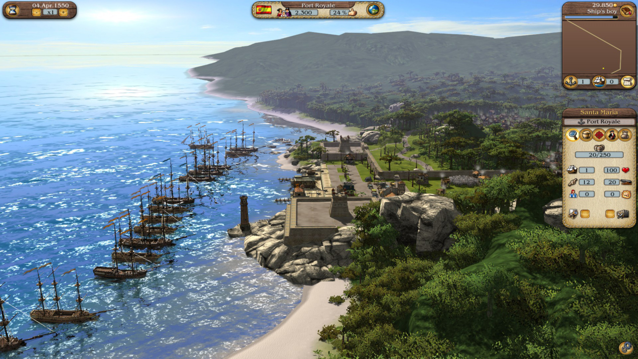 review port royale 3 pirates merchants nag