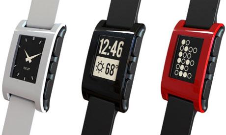 Pebble wristwatch