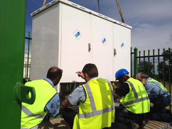 Telkom-MSAN-installation