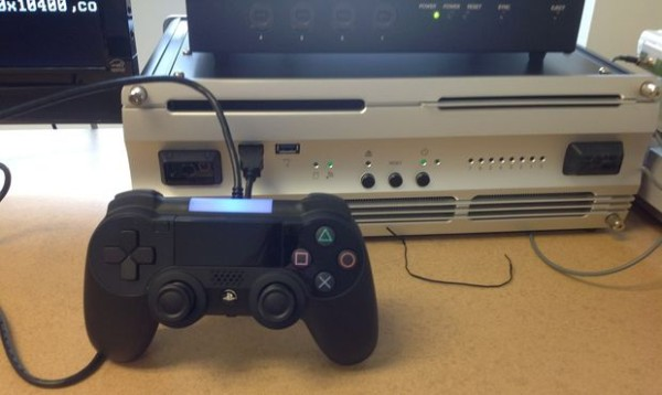 This is what Sony's PS4 dev kits look like.