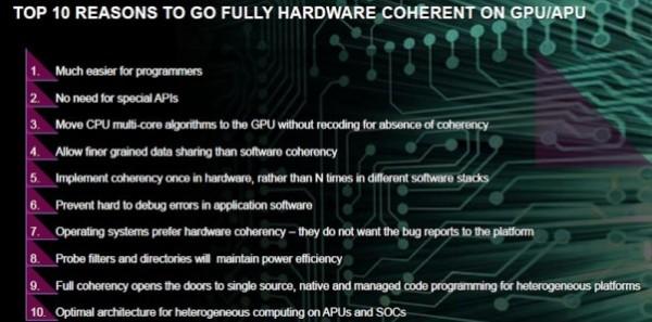 AMD Kaveri hUMA benefits