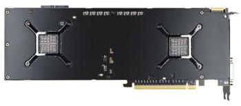 AMD Radeon HD7990 Malta backplate