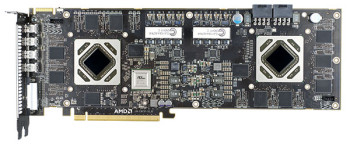 AMD Radeon HD7990 Malta bare board