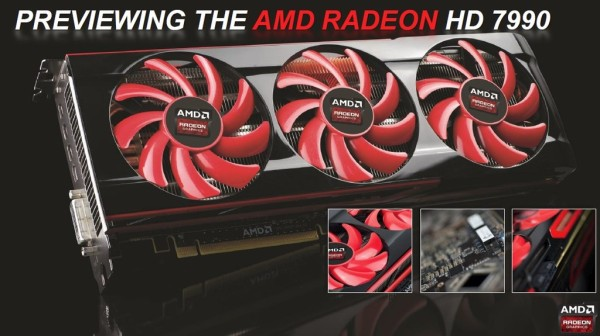 AMD Radeon HD7990 preview