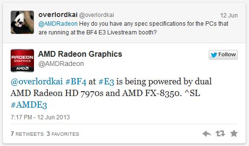 AMD BF4 hardware