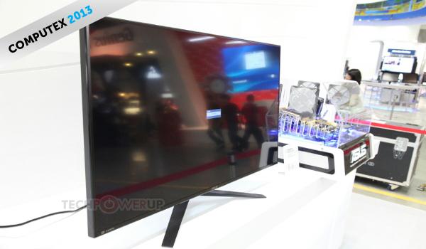 ASUS PQ321 4K monitor header