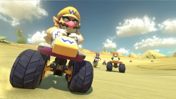 Although a Mario Kart with Kratos and Solid Snake might be something I can get behind.