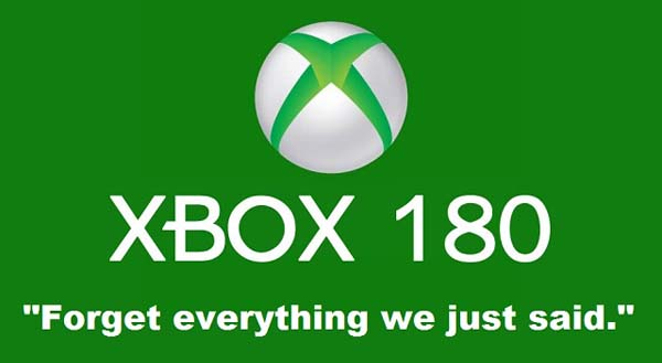 Xbox forget everything we just said