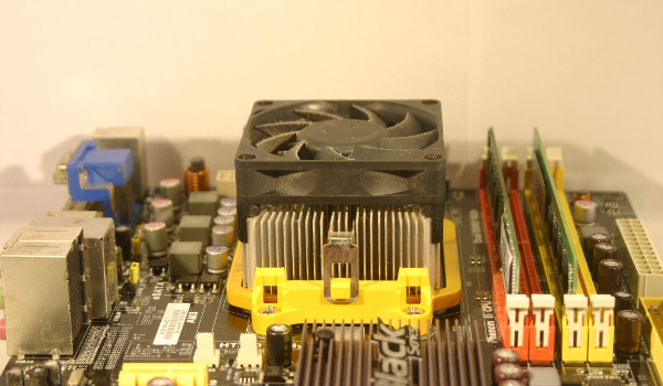 Stock AMD fan