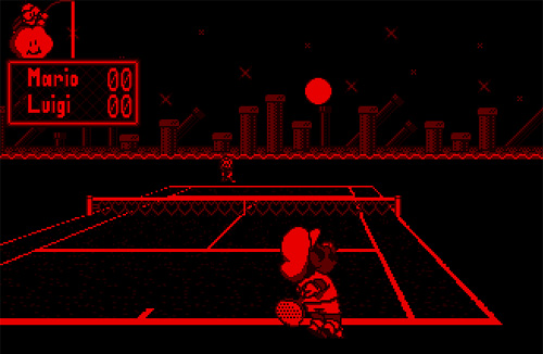 virtual boy tennis