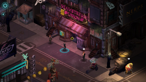 The locales of Shadowrun Returns have just the right atmosphere; it's a pity they're little more than backdrops.