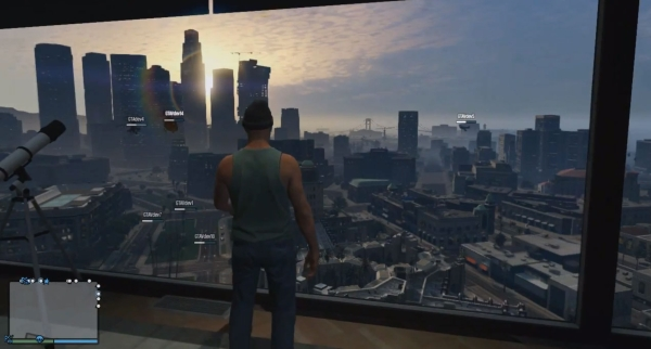 The sprawling, alive city of Los Santos can be a hefty burden to previous-gen consoles.