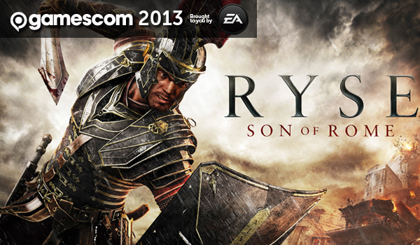 ryse son of rome gamescom header