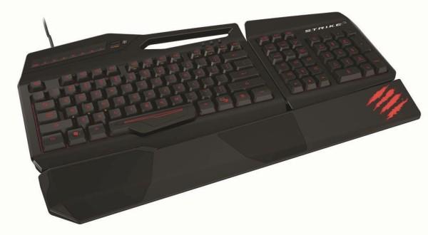Saitek's Cyborg S.T.R.I.K.E. 3 keyboard