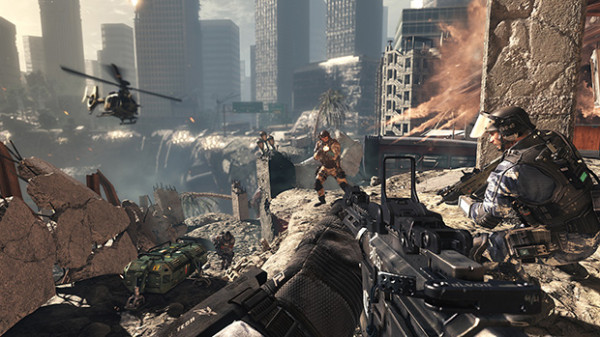 I have to admit, Ghosts' destructible, dynamic multiplayer maps look pretty damn cool.