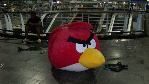 rAge 2012 Angry Birds plushie