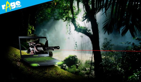 Alienware M17x rage header