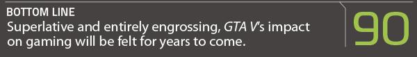 Grand Theft Auto V Score Box