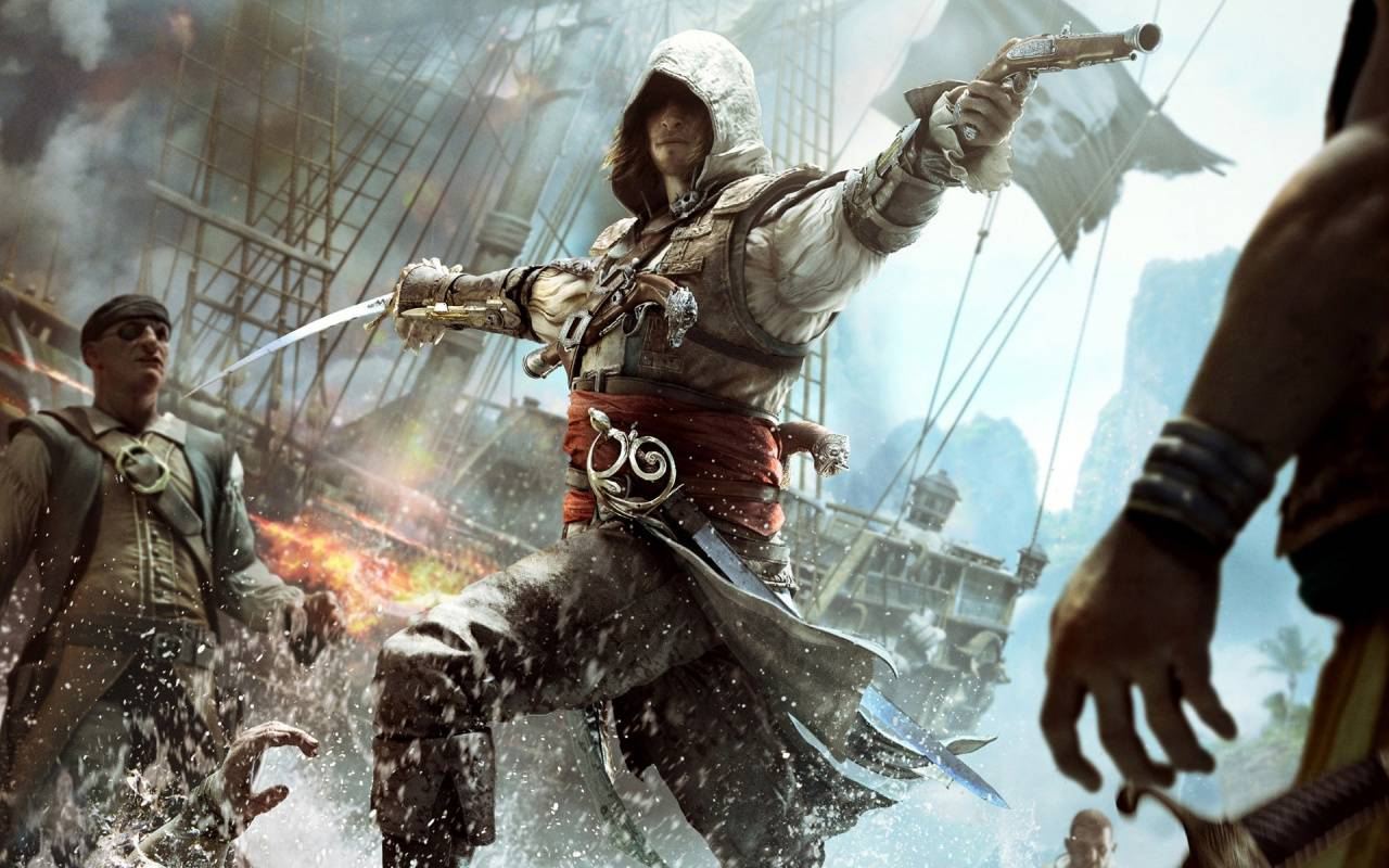 Assassins creed iv black flag sets sail today nag assassinscreedivblackflagedwardconcept ubisofts assassins creed voltagebd Image collections