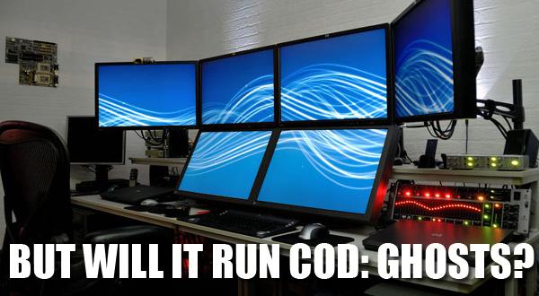 will it run cod ghosts