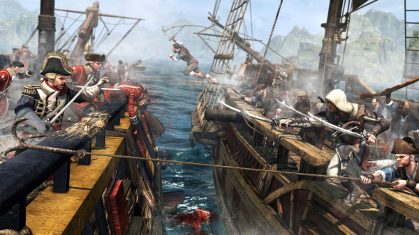 Ubisoft gives up on piracy after making game about pirates.