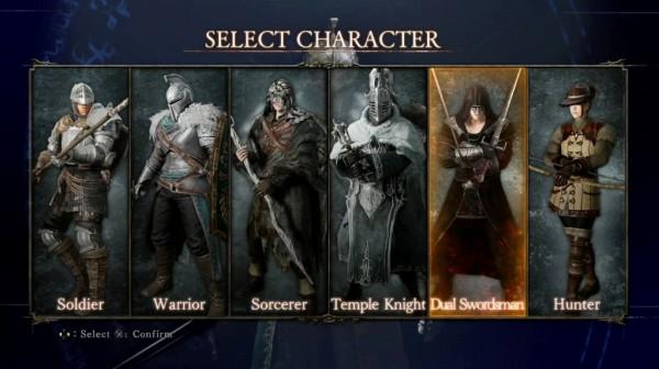 Dark Souls 2 characters