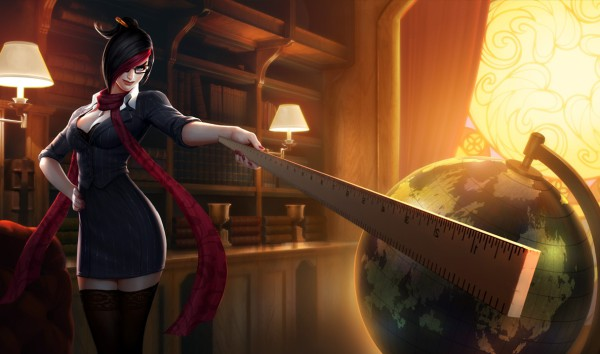 "I found this particular image in a forum discussion on the ""sexiest League of Legends skin""."