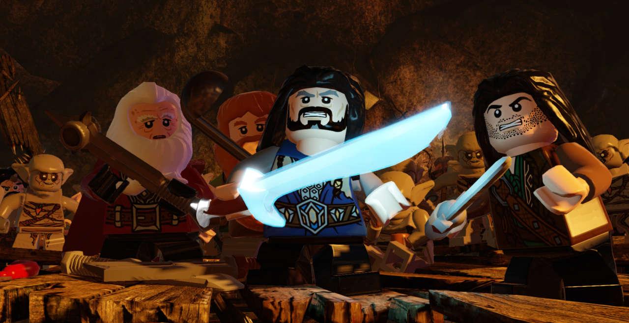 بازی LEGO The Hobbit برای PS4