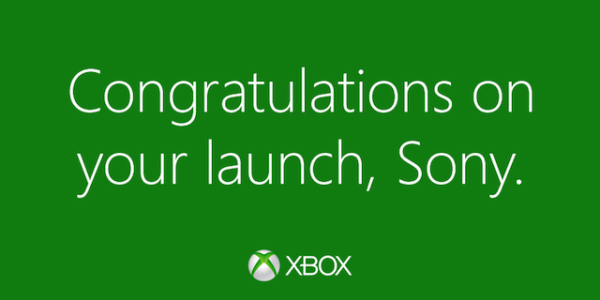 microsoft-xbox-one-twitter-sony-ps4-launch