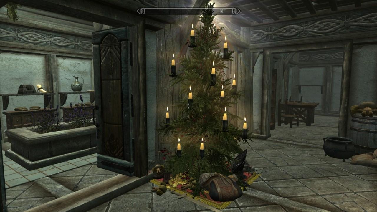 Modding Skyrim The Twelve Mods Of Christmas Nag