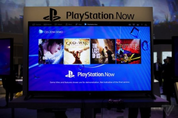 Games available on Playstation Now at CES 2014