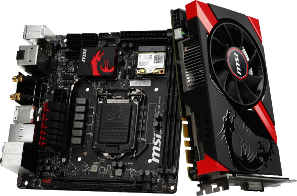 MSI ITX Gaming range for 2013