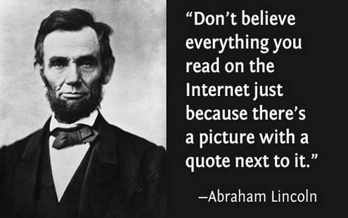 lincoln quote internet funny meme