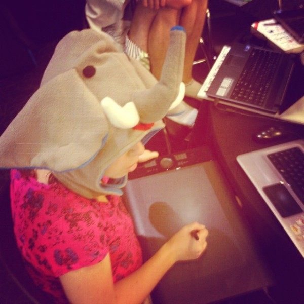 When you start seeing your artists wearing elephant hats, it's probably time for everyone to go home.