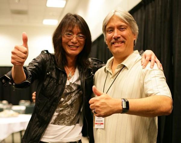 Ken Lobb with Tomonobu Itagaki