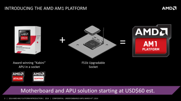 AMD socket AM1 benefits