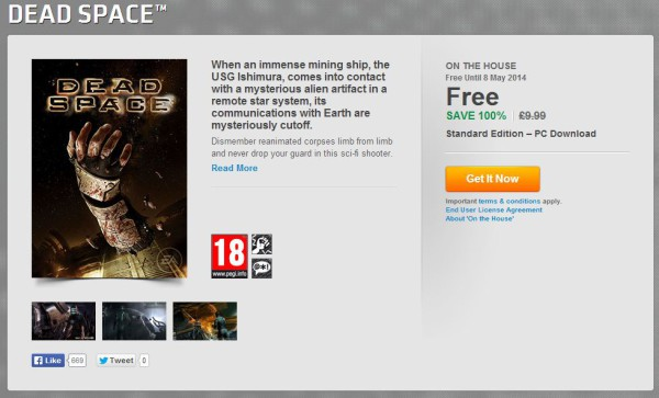 Dead Space free