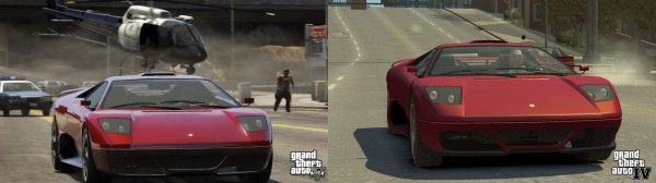 GTA V and IV graphics comparison