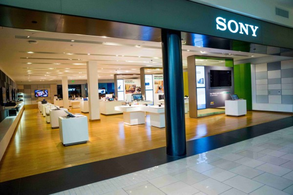 Sony retail store