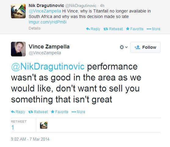 Vince Zampella on Titanfall SA cancellation