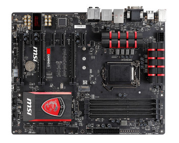 MSI Z97-Gaming-5 top