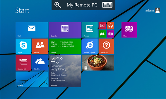 windows phone remote desktop