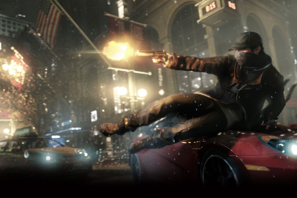 Watch Dogs header aiden car
