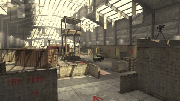 Classic CoD 4 maps like Killhouse would be disastrous with Ghosts spawning.