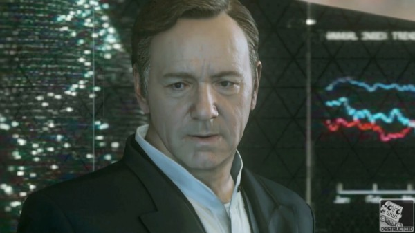 Mr Spacey is displeased.