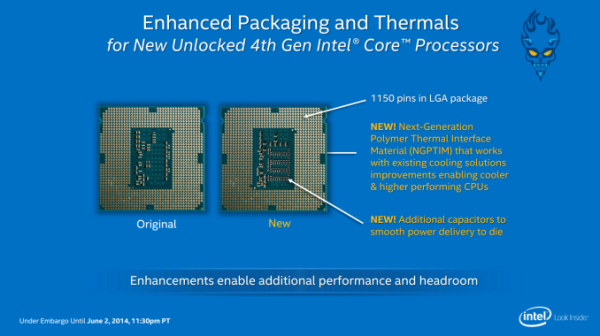 Intel DC New Packaging