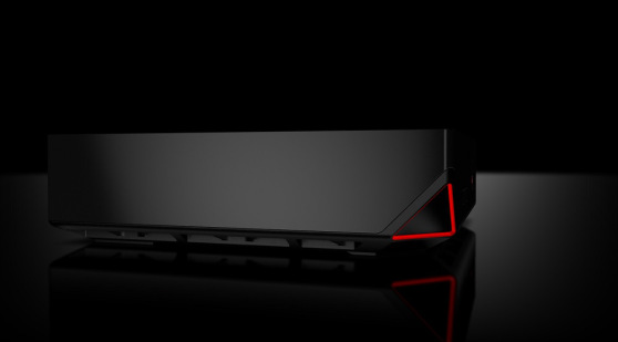 dell alienware alpha left side