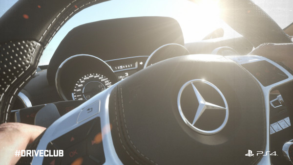 driveclub merc amg interior